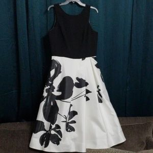 Stunning Flared Dress by White House Black Market